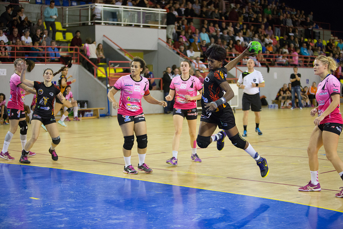 14 buts pour Chantal Okomba Photo : P. Boulesteix